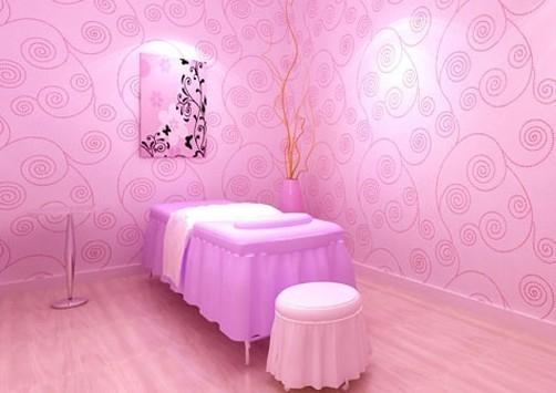 小型美容院装修设计图片