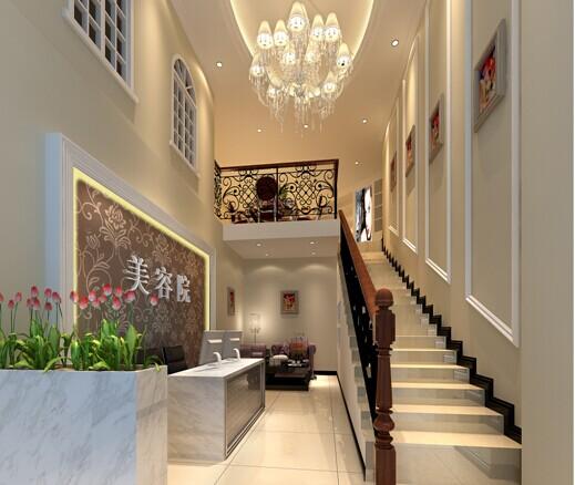 美容院过道楼梯设计
