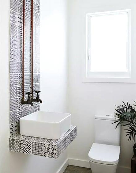 民族风卫浴间墙砖