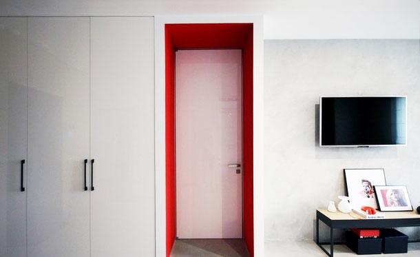 简约风格效果图客厅墙面设计