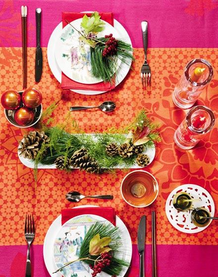 美味餐桌布置效果图