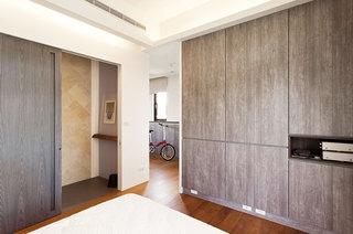 78平米简约设计效果图卧室衣柜设计