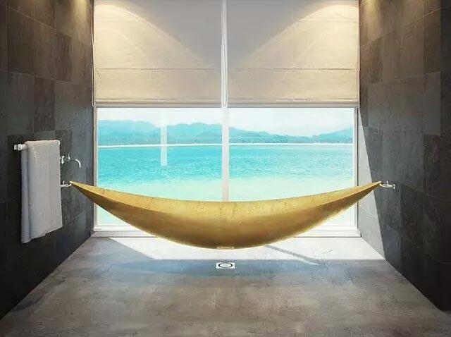 卫浴间创意吊床设计
