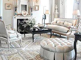 优雅之美 10个欧式风格客厅设计
