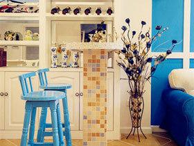 1平米的浪漫空间 12款地中海吧台设计