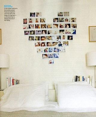 心形照片墙设计效果图
