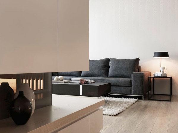 简约风格三居室简洁效果图