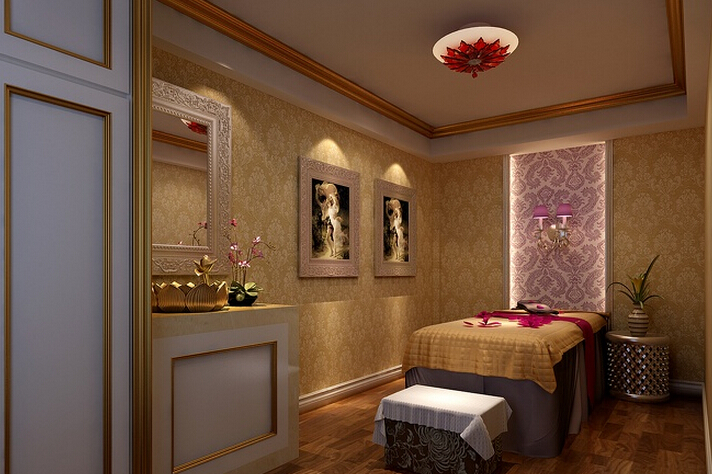 美容院室内设计效果图
