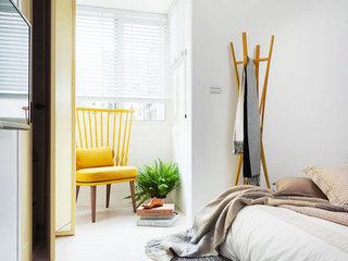 75平米乡村田园风格卧室角落设计