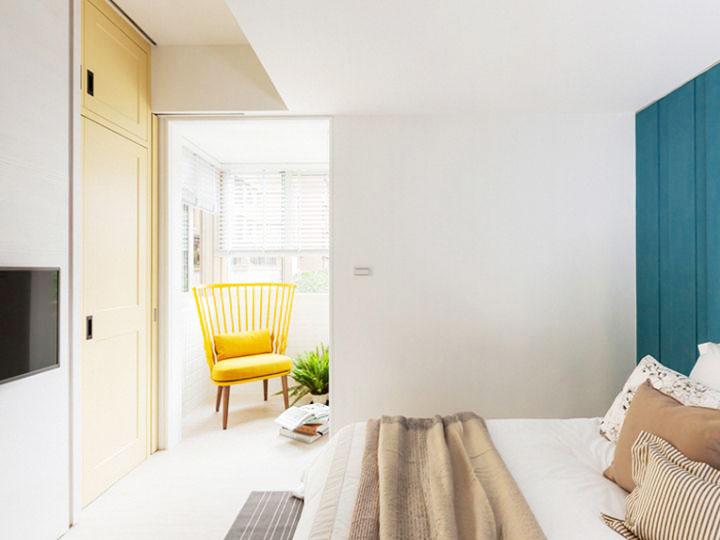75平米乡村田园风格卧室设计