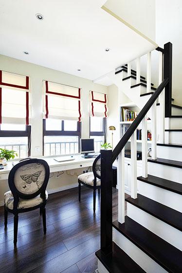复式房装修楼梯设计