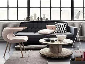 旧物新生 12个客厅木质茶几设计