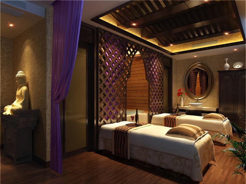 东南亚风格美容院装修效果图