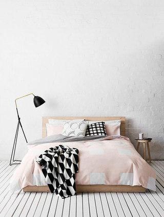 温馨北欧卧室装修效果图