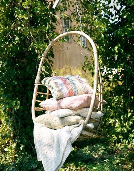 户外花园吊椅设计