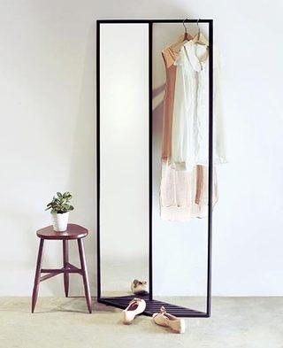创意镜子衣架设计