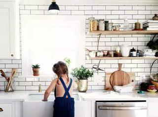 清爽整洁厨房设计
