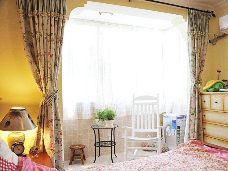 温馨田园风格卧室设计