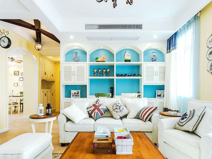 地中海式装修风格客厅设计