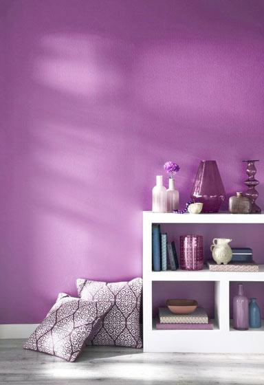 梦幻紫色背景墙图片