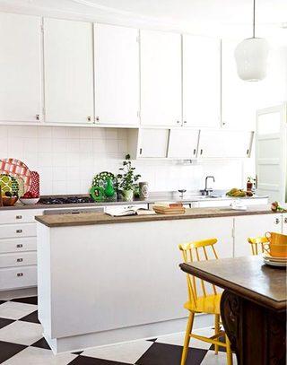 白色明亮纯净厨房设计