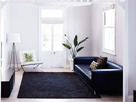 别墅装修设计 11图超简约黑白色空间