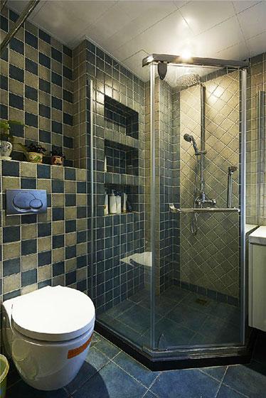 80平米装修效果图淋浴房设计