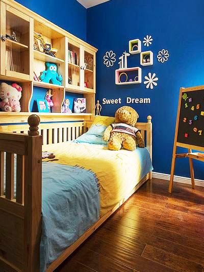 80平装修效果图儿童房设计