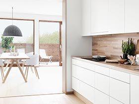 木色添清新 12个清爽木色厨房设计