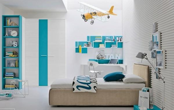 飞机模型装饰儿童房