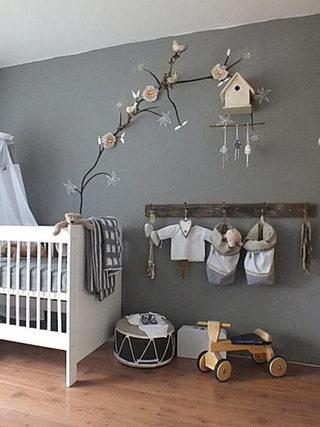 可爱装饰婴儿房设计