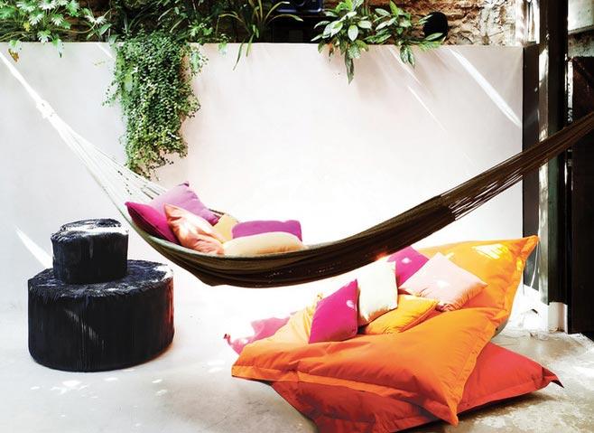 舒适庭院吊床设计