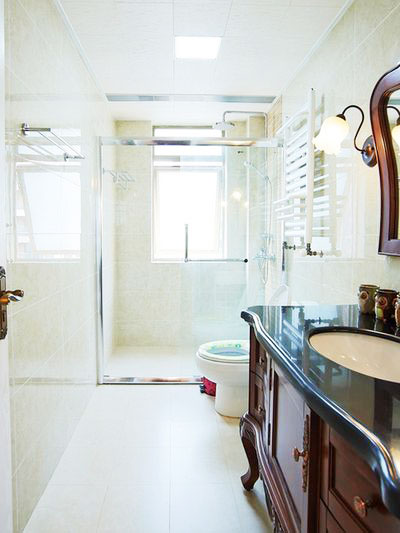 90平方米装修效果图卫生间设计
