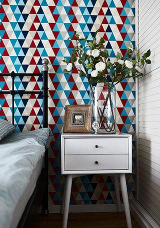 简美风格床头柜设计