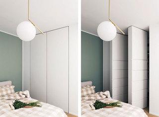 现代简约风格单身公寓时尚60平米设计图