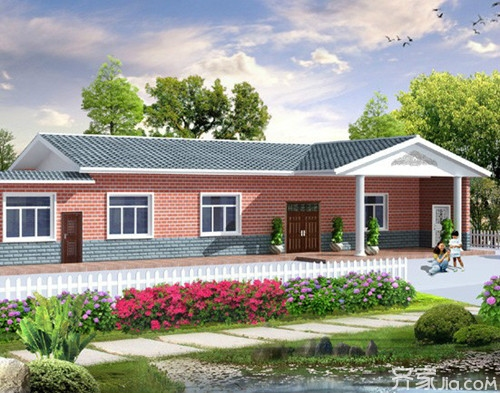 新颖的构思让农村别墅设计穿上创意的外衣图片