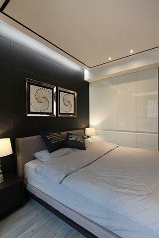90平米现代简约装修卧室设计