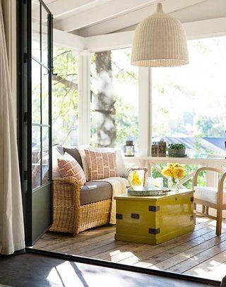 温馨明亮阳光房装修效果图