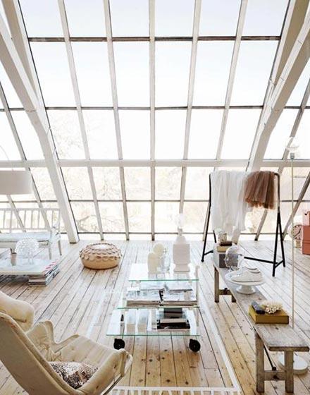 屋顶阳光房装修效果图高清图片