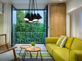 清新的林间公寓  让家和大自然融为一体