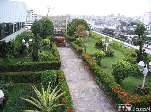 楼顶花园装修设计 打造不一样的私家花园