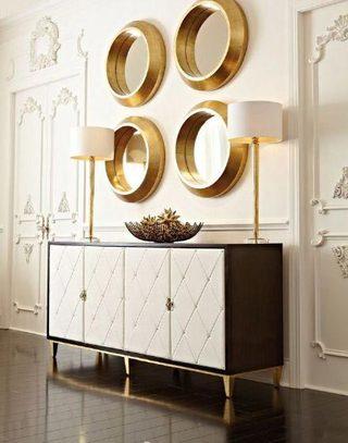 壁画装饰柜效果图片