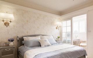 地中海素雅卧室装修效果图
