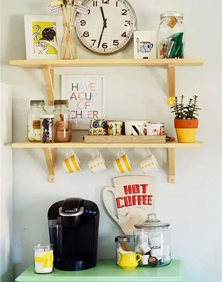可爱家庭咖啡馆装修设计图