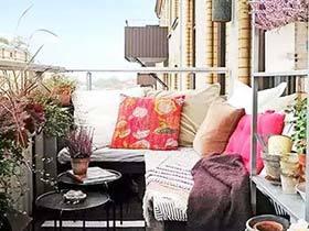 阳台搭配有妙招 11个清新阳台装修图片