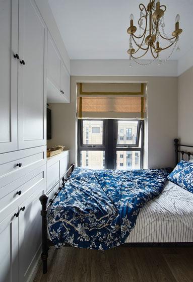 美式单人卧室装修效果图