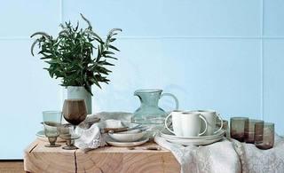 治愈系餐厅桌布图片