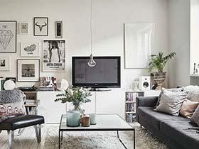简约森活家 北欧风格两居室简约装修