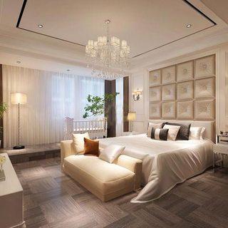 欧式卧室装潢图