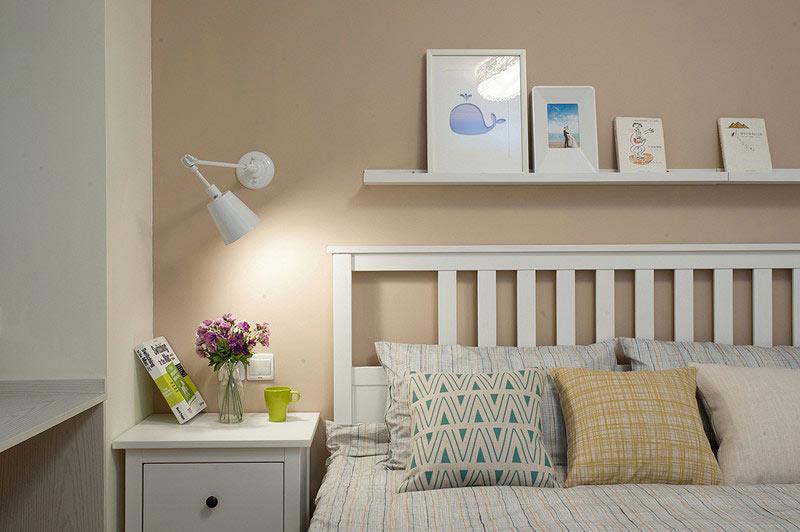 雅致卧室床头设计效果图